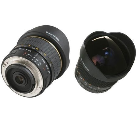 Samyang 8mm f/3,5 aspherical IF MC Fisheye