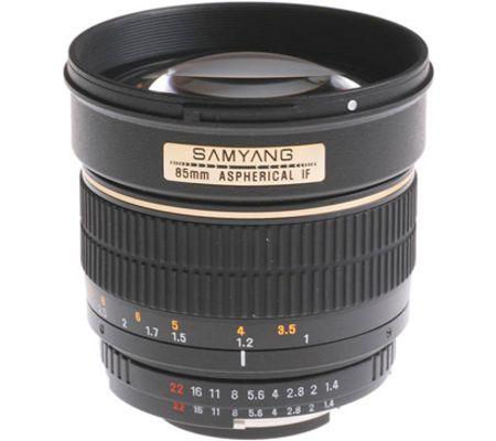 Samyang Loxia 35 mm f/2
