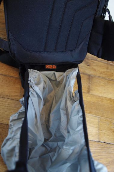 Lowepro SlingShot 202 AW test review housse protection