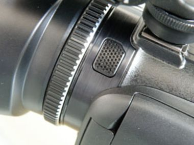 canon XA10 test review bague objectif