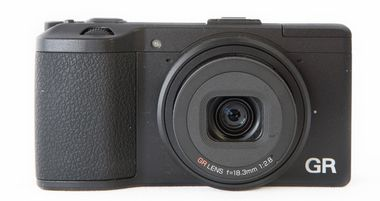 Ricoh GR test review avis vue de face