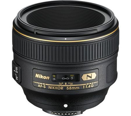 Nikon AF-S Nikkor 58 mm f/1,4 G