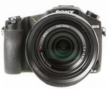 Sony RX10 test review avis vue de face