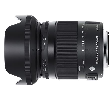 Sigma 18-200 mm f/3,5-5,6 DC MACRO OS HSM