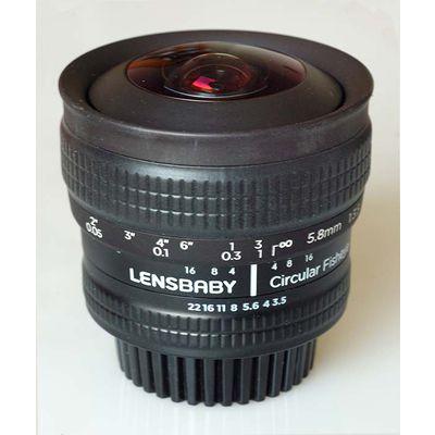 Test Lensbaby Circular Fisheye 5,8 mm f/3,5