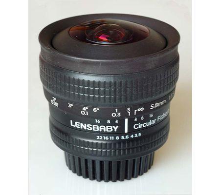 Lensbaby Circular Fisheye 5,8 mm f/3,5