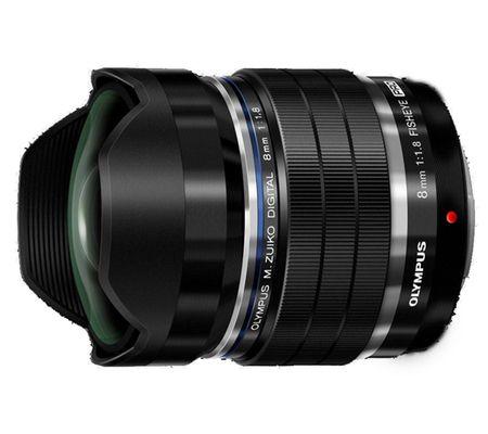 Olympus M. Zuiko Digital ED 8 mm f/1,8 PRO
