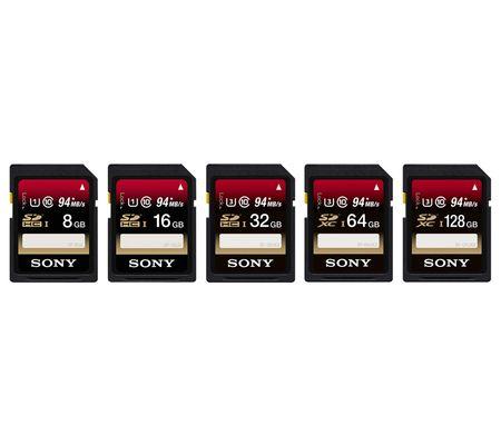 Sony SFUX SDHC/SDXC UHS-I U3