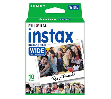 Fujifilm pack 10 films instax wide