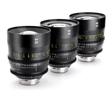 Tokina Cinema Vista 35 mm, 50 mm et 85 mm T1.5