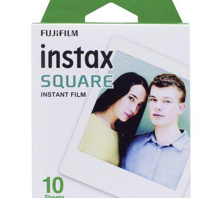 Fujifilm pack 10 photos Instax Square