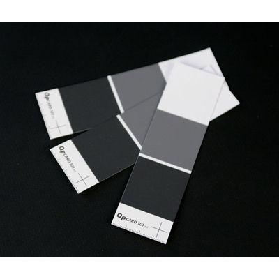 Test de la charte de gris QPcard 101 V2