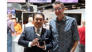 Sony A99 Mark II : discussion avec M. Yosuke Aoki