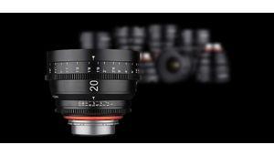 La série Xeen de Samyang se dote d'un 20mm T1.9