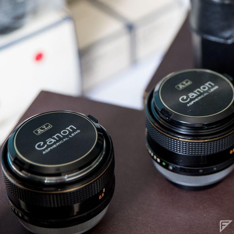 rencontres Canon FD lentilles