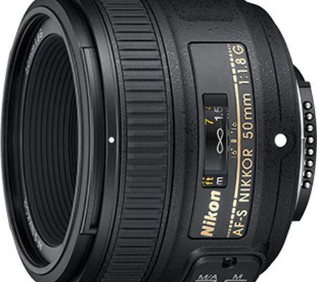 Nikon AF-S FX 50 mm f/1,8G