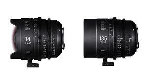 Sigma ajoute deux optiques T2.0 à sa gamme ciné