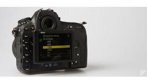 Nikon D850 : la montée ISO