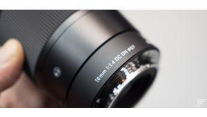 Prise en main et prix du Sigma 16 mm f/1,4 DC