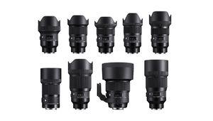Toute la gamme Art (focales fixes) Sigma en monture Sony FE native !