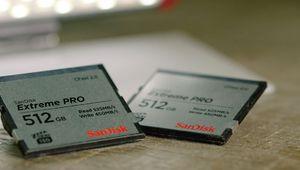 SanDisk annonce une carte CFast de 512 Go pour caméras Arri