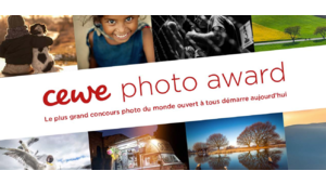 250 000 € de dotation pour le Cewe Photo Award 2019 !