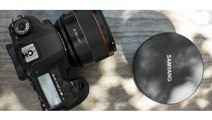 85 mm f/1,4 AF signé Samyang en monture Canon EF
