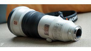 Prise en main du Sony 400 mm f/2,8 !