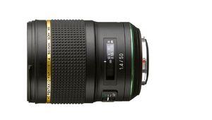 Le nouveau Pentax 50 mm f/1,4 est disponible !