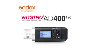 AD400 : Godox élargit sa gamme Pro avec un flash plus transportable