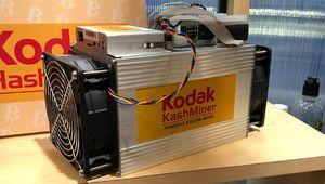 Le Kodak KashMiner ne minera jamais de bitcoins…