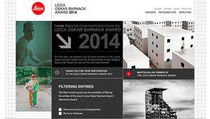 Les lauréats du Prix Leica Oskar Barnack 2014