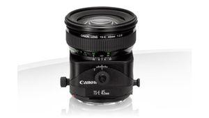 Soldes été 2014 : Objectif Canon TS-E 45 mm f/2,8 à 779 €