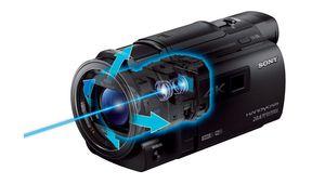 CES - Sony FDR-AXP33 : un caméscope 4K bien stabilisé