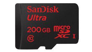 MWC 2015 - Sandisk entasse 200 Go sur une microSD