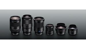 Les 4 optiques Sony en monture FE sont officielles !
