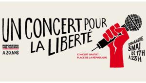Reporters Sans Frontières fête ses 30 ans dimanche 3 mai