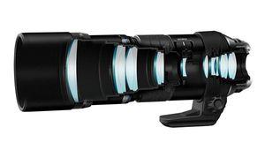 CES - Olympus M.Zuiko Digital ED 300mm F4 IS Pro, paré pour l'aventure