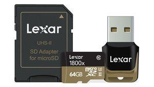 CES - Lexar annonce de nouvelles cartes microSD UHS-II