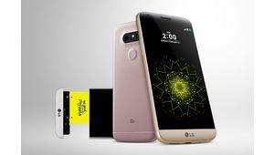 MWC16 - LG G5, un smartphone modulaire à double module photo
