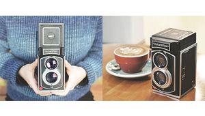 L'InstantFlex TL70 : le Rolleiflex qui a avalé un Polaroïd