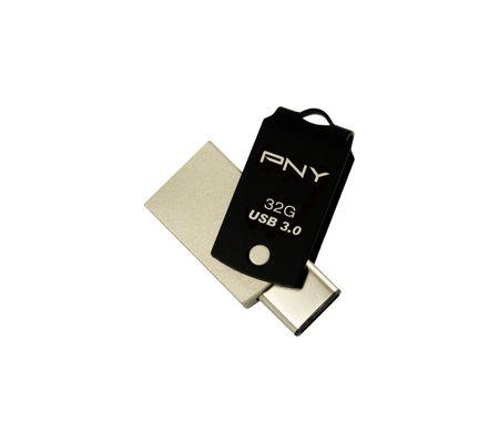 PNY UCD10 clé USB-A USB-C 32 Go
