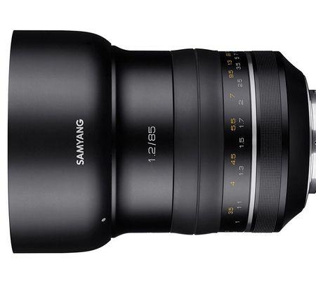 Samyang XP 85 mm f/1,2