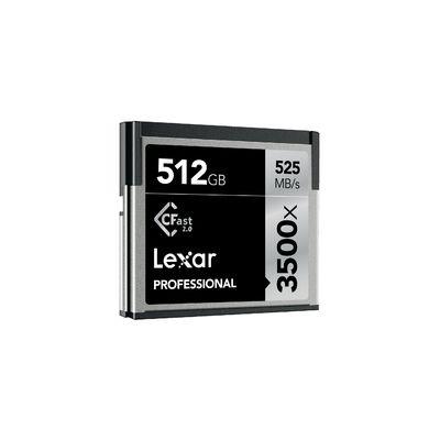 Lexar Professional 3500x CFast 2.0 512 Go