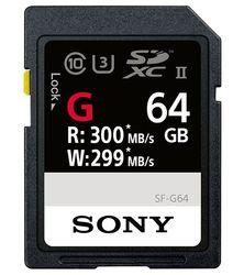 Sony SF-G SDXC UHS-II 64 Go