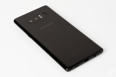 Samsung Galaxy Note 8 prise en main