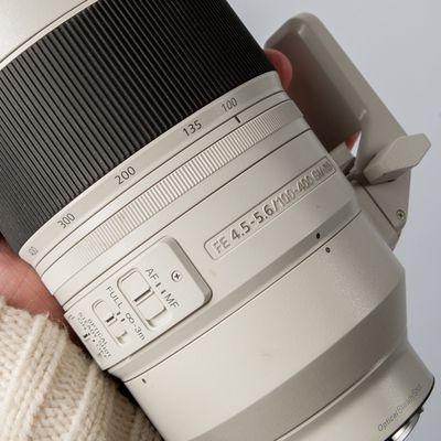 Sony G Master FE 100-400 mm f/4,5-5,6 GM OSS