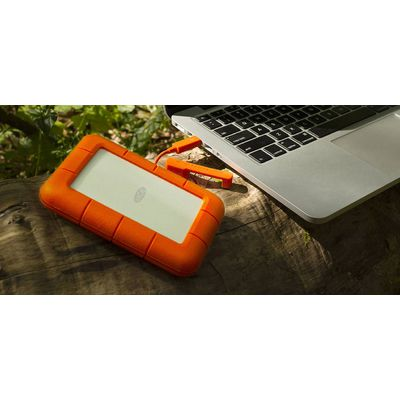 LaCie Rugged Thunderbolt USB-C SSD 1 To