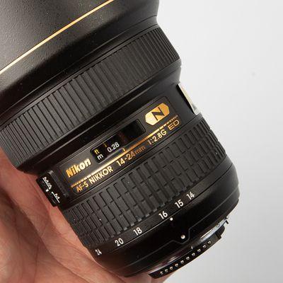 Nikon AF-S Nikkor 14-24 mm f/2,8 G ED
