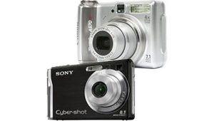 Tests : nouveaux compacts stabilisés Canon A570IS et Sony W90